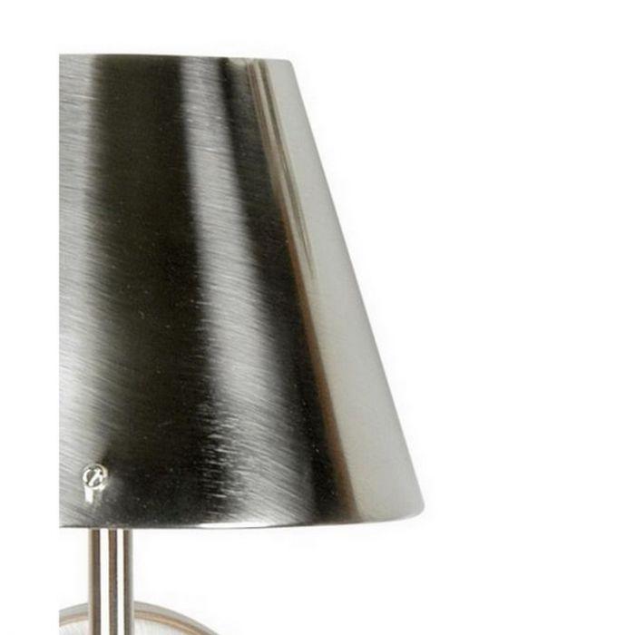 Nikkel wandlamp Ishra, metaal