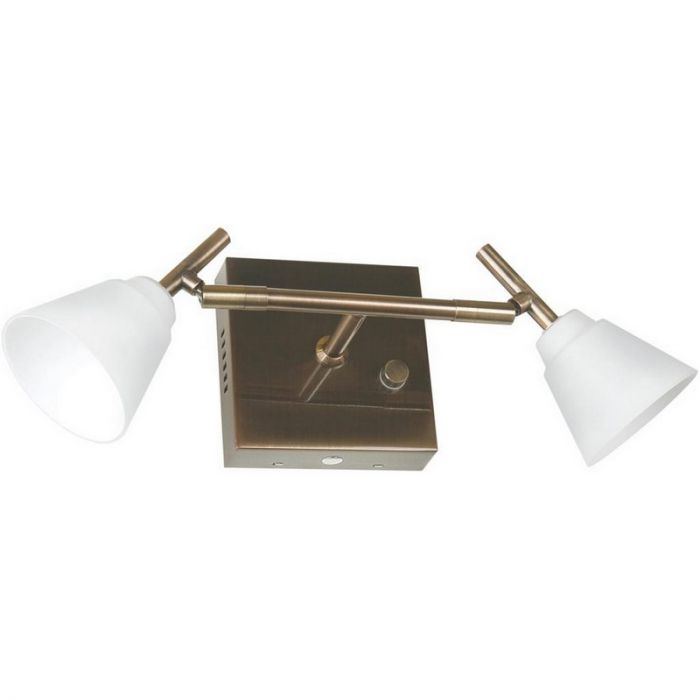 Klassieke wandlamp Liset II, brons