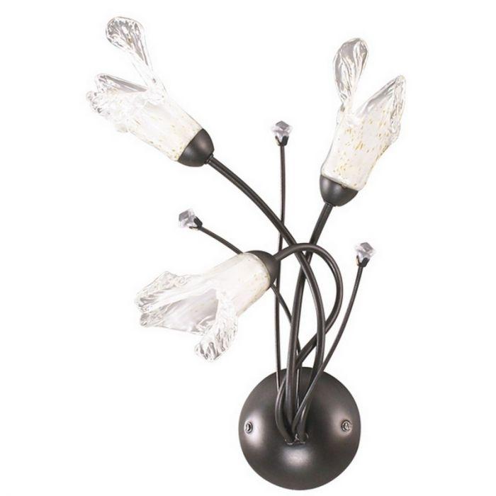 Loiza wandlamp landelijk/klassiek, roestkleurig