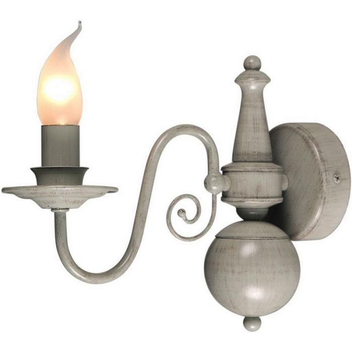 Quincy wandlamp klassiek, grijs