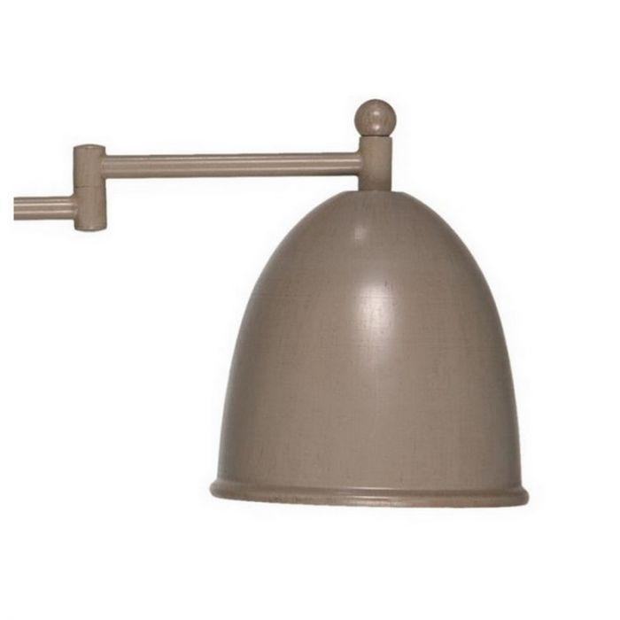 Taupe wandlamp Giano II, landelijk