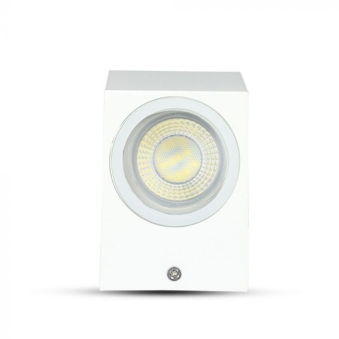 Witte buitenlamp Corella groot - modern