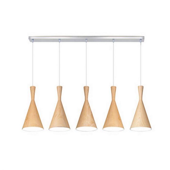 Hanglamp Ninte II, modern, lichtbruin