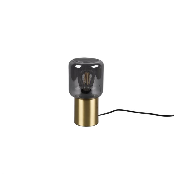 Moderne Tafellamp Gail, messing