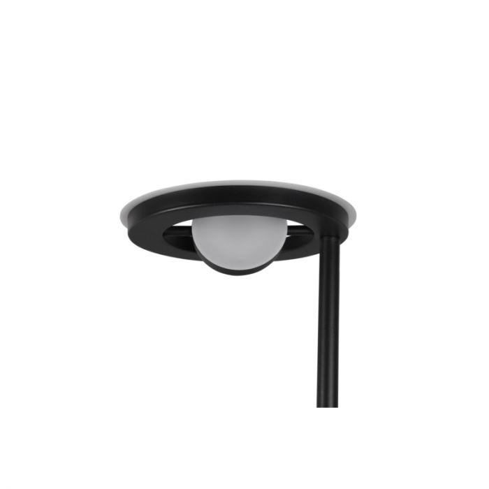 Moderne staande leeslamp Yazid, zwart, 32w geintegreerd LED