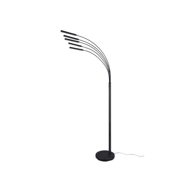 Moderne vloerlamp Ekram, zwart, 3,5w geintegreerd LED