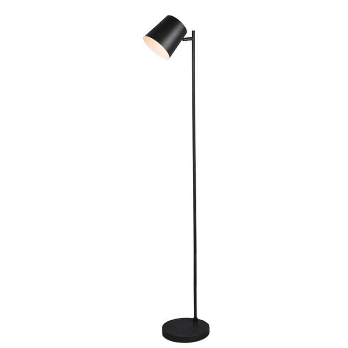 Moderne vloerlamp Suraya, zwart, 4,5w geintegreerd LED