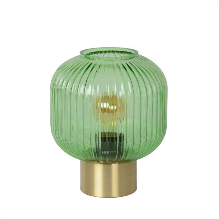 Groene Tafellamp Maloto, glas