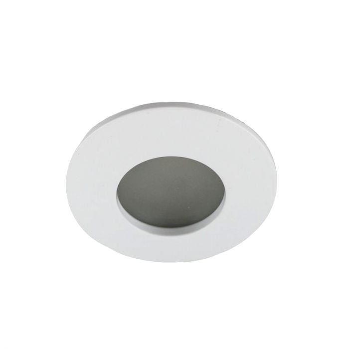 Ronde badkamer inbouwspot Pierre, wit
