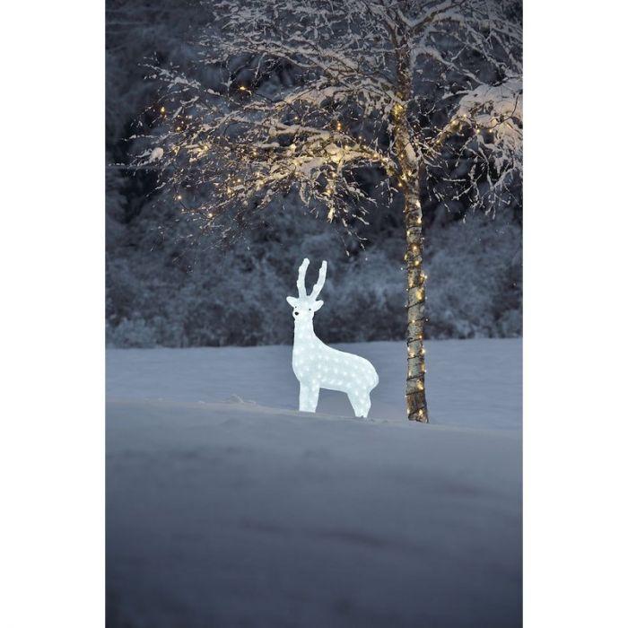 LED Rendier, kerst, Acrylaat, 105 cm hoog