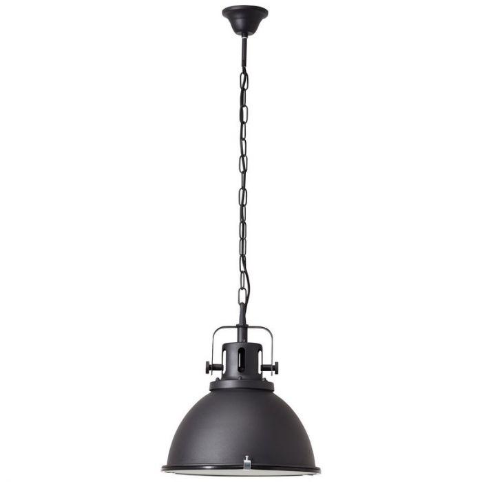 Industriële Hanglamp Jesmee - Zwart