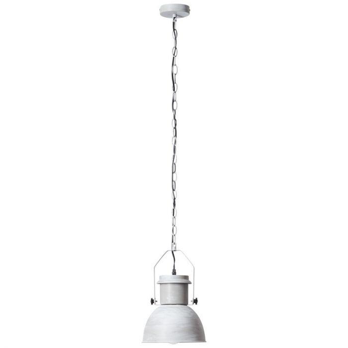 Industriële, Brocante Hanglamp Jezmaé - Beton Grijs