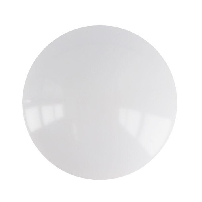 Witte plafondlamp met sensor Sirano, kunststof