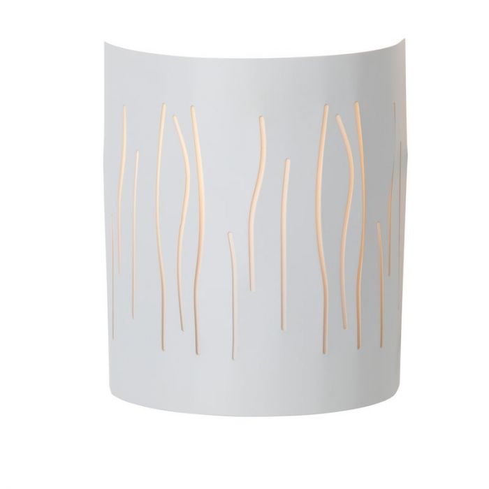 Witte wandlamp Adrina