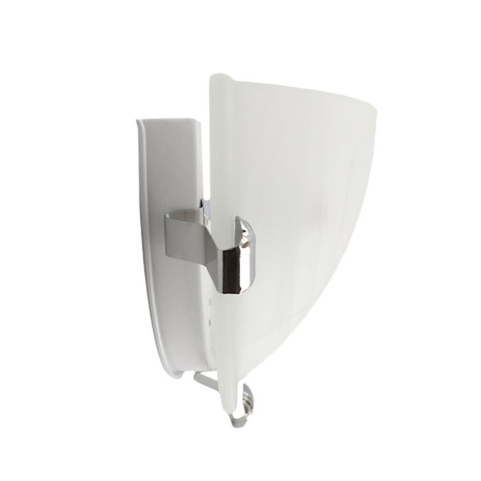 Witte wandlamp Aliyana