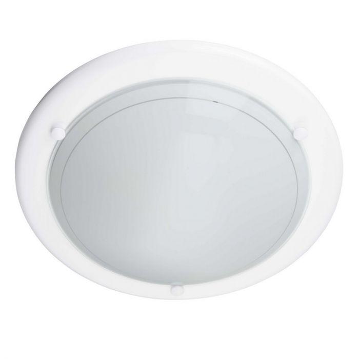 Witte plafondlamp Elyssa