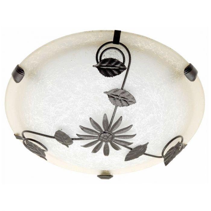 Witte, Bruine wandlamp plafondlamp Evine