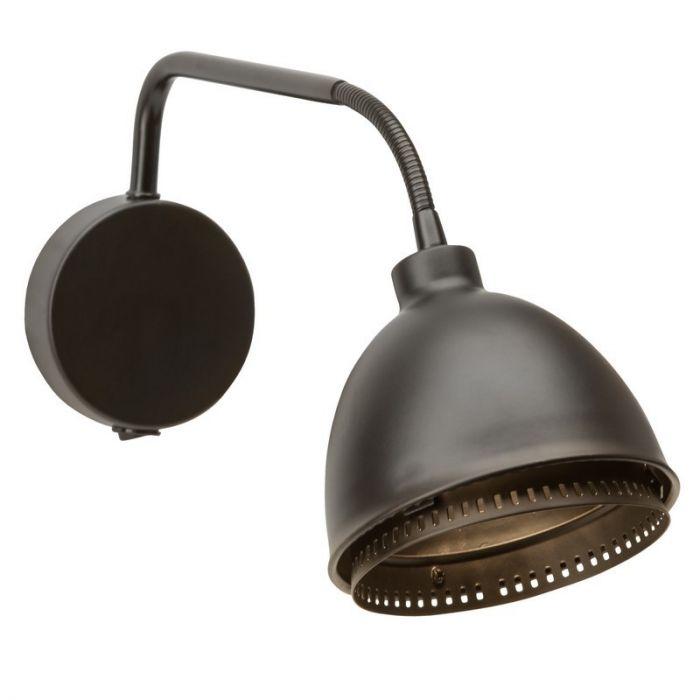 Zwarte Matt wandlamp plafondlamp Finte