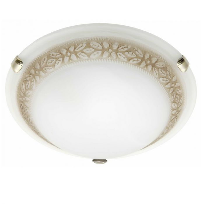 Witte, Bruine wandlamp plafondlamp Habiba