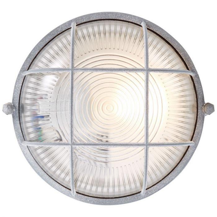 Industriële, Landelijke, Brocante plafondlamp Kaycee - Beton Grijs