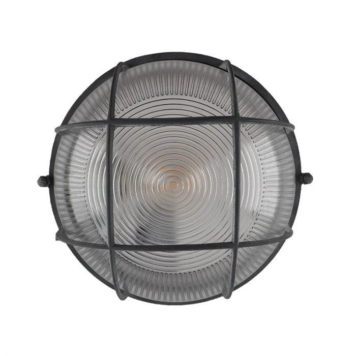 Industriële, Landelijke, Brocante plafondlamp Kaydi - Beton Grijs