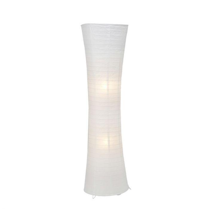 Witte vloerlamp Isalie