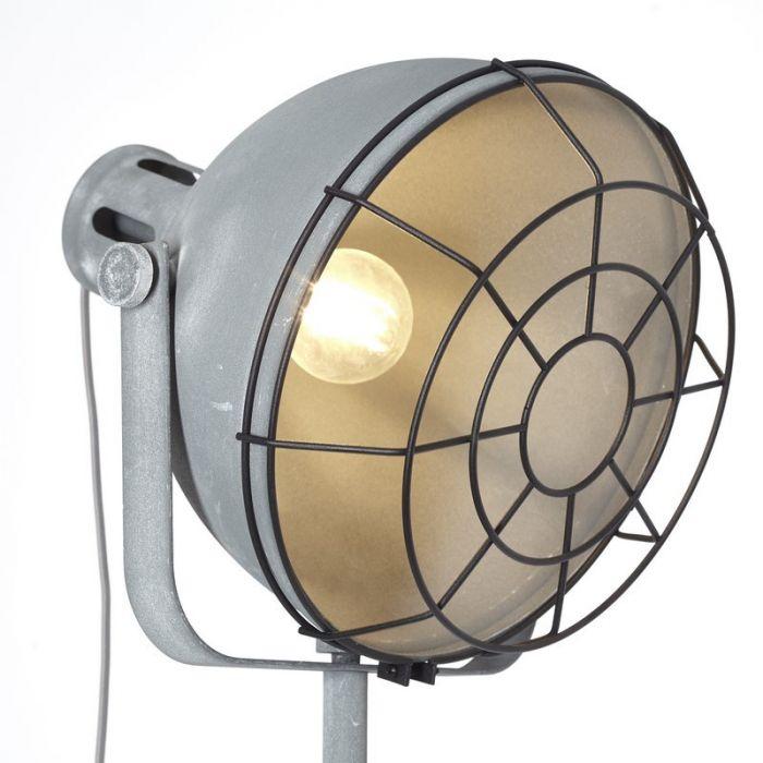 Staande Lamp Jamiella - Beton Grijs
