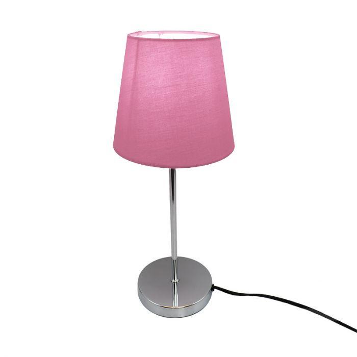 Chroom, Rode tafellamp Neyomi