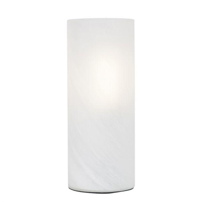 Witte alabaster tafellamp Ranim