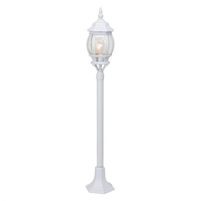 Witte buiten staande lamp Siya