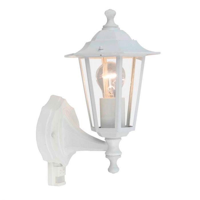 Witte buiten wandlamp Yill