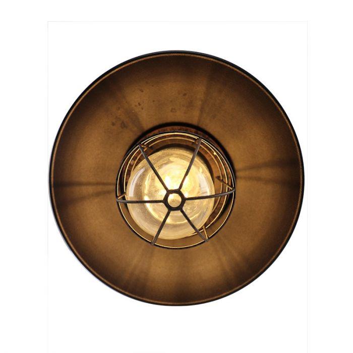 Landelijke, Industriële Buitenlamp Jaymiley - Roest
