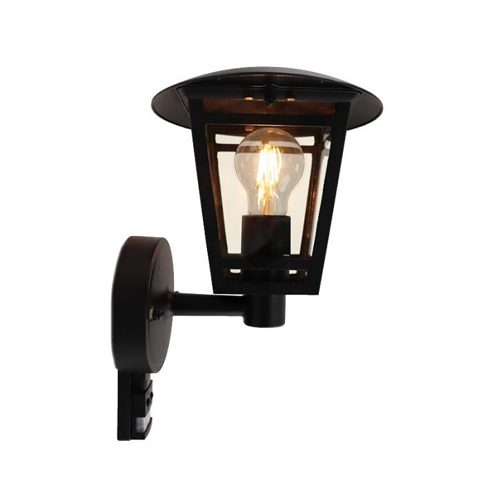 Moderne Buitenlamp Jedidjah - Zwart