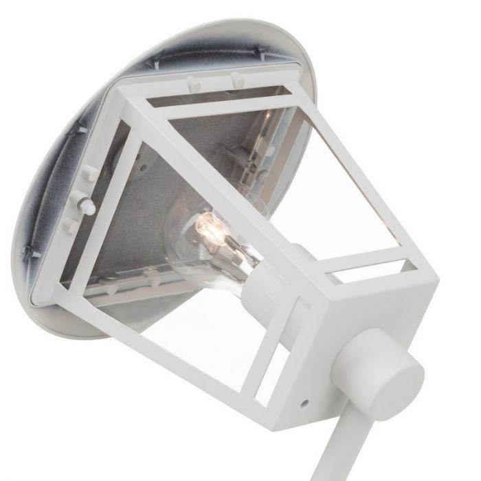 Moderne Buitenlamp Jehiah - Wit