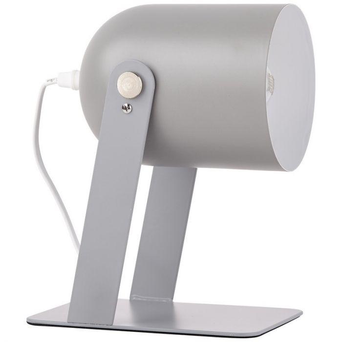 Moderne tafellamp Arlette, Grijs