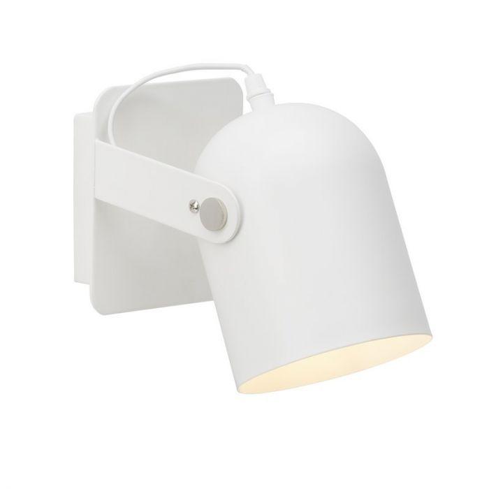 Moderne wandlamp Arlette, Wit