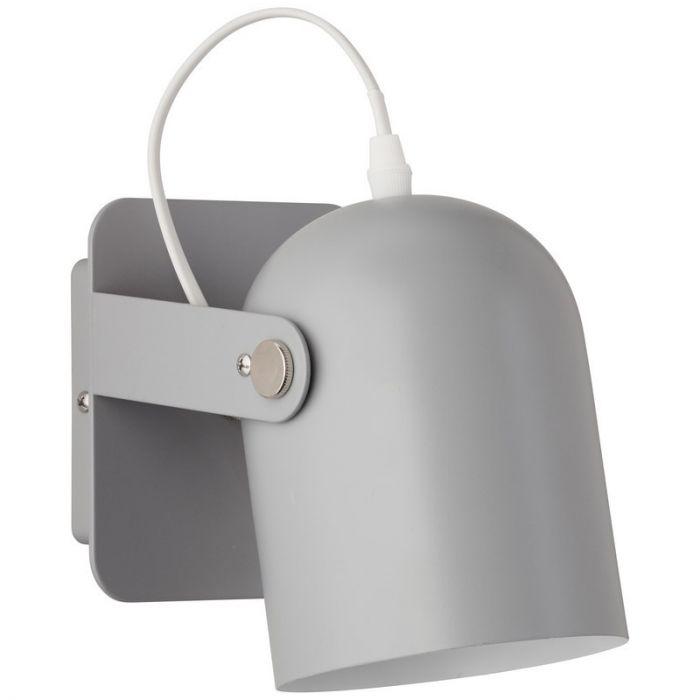 Moderne wandlamp Arlette, Grijs