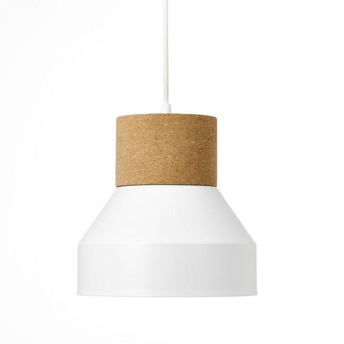 Moderne hanglamp Charlotte, Mat Wit