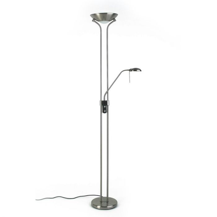 Moderne staande lamp Lily, Mat Chroom