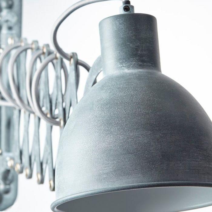 Landelijke wandlamp Tessa, Beton Grijs