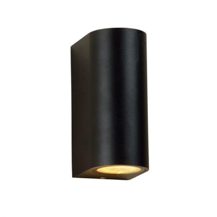 Grote Corina buitenlamp modern, zwart