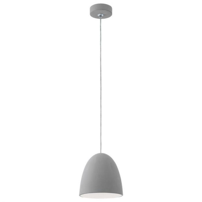 Stenen hanglamp Museto Grijs