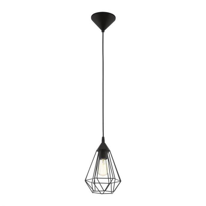 Zwarte hanglamp Costel