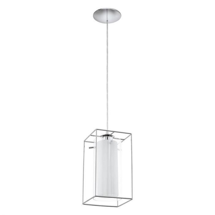 Camin hanglamp Glas met frame