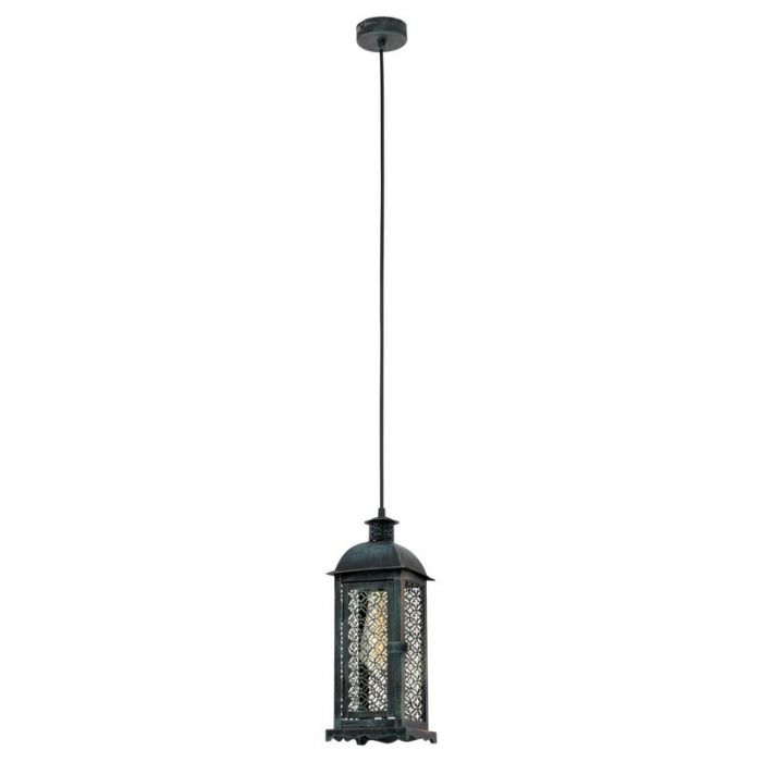 Abderrahman hanglamp - Patina Groen