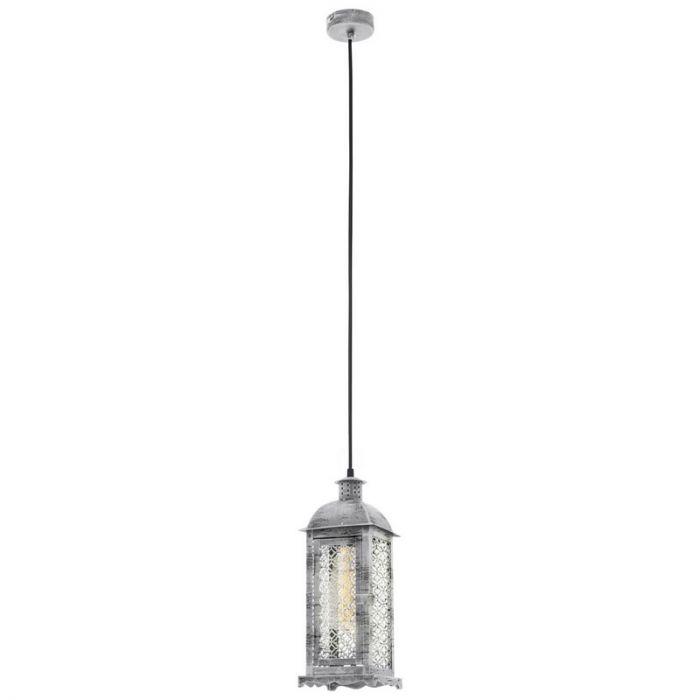 Abderrahmane hanglamp - Antiek Zilver