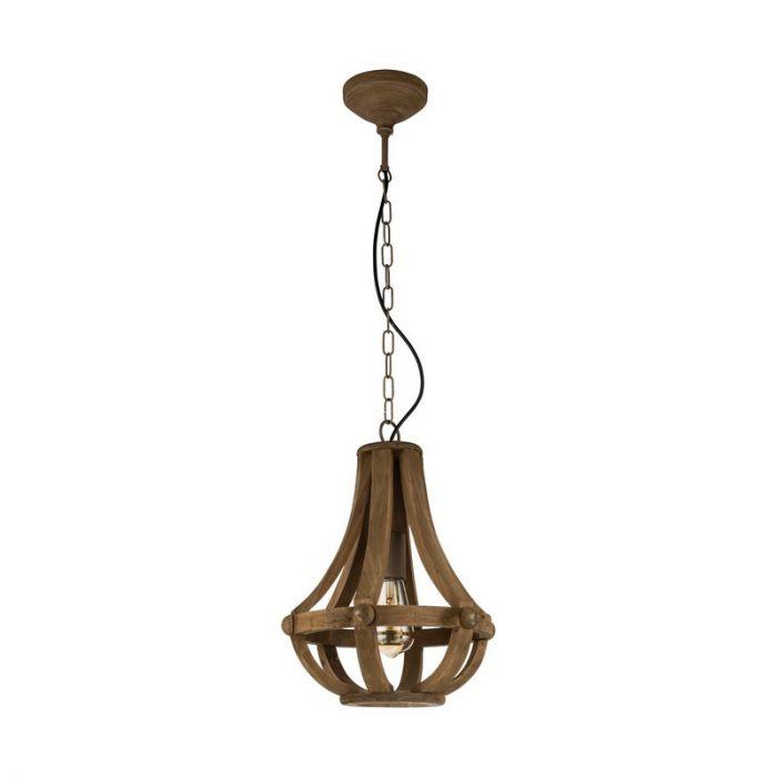 Adrianne hanglamp - Bruin