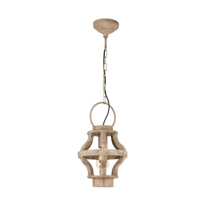 Adrianus hanglamp - Bruin