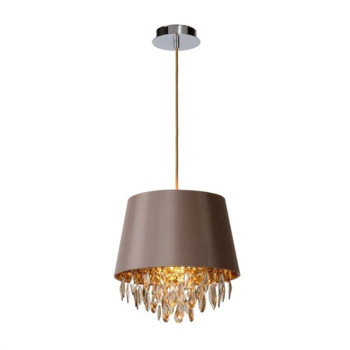 Moderne hanglamp Dolti, Taupe