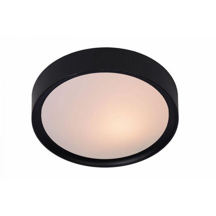 Lex plafondlamp groot, zwart